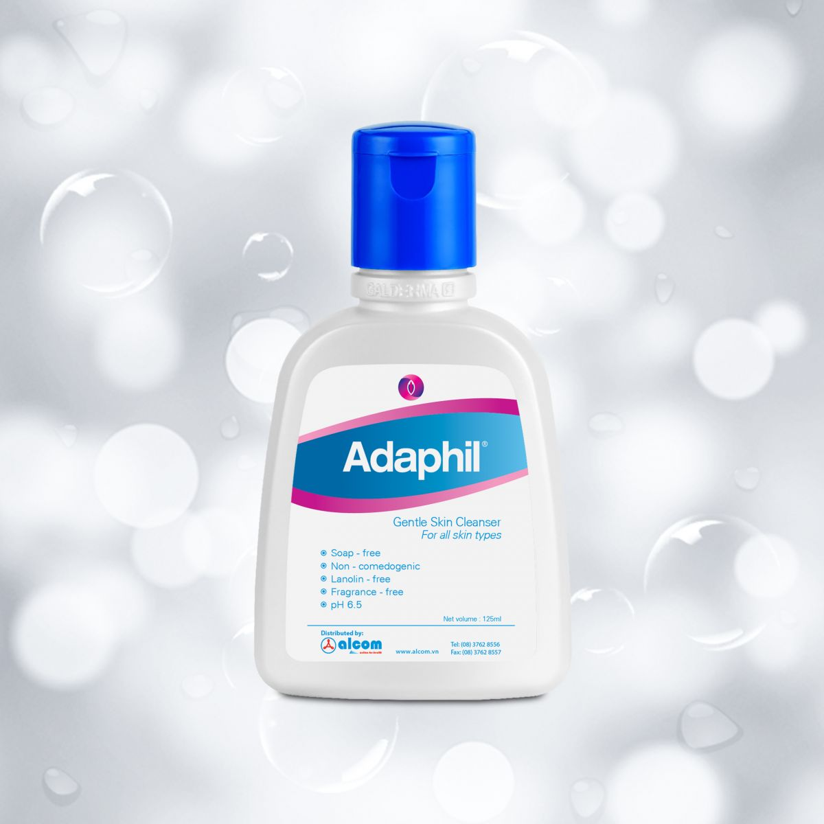Adaphil® Sữa tắm, rửa chuyên dụng cho trẻ em và người lớn