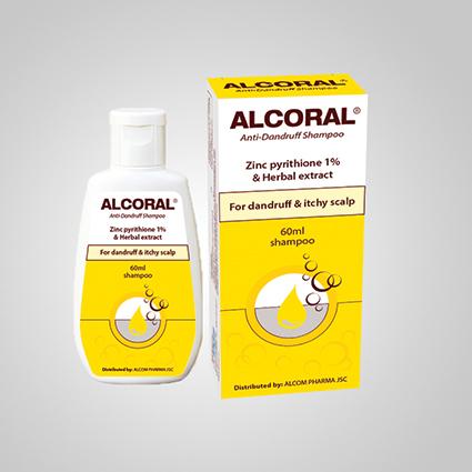 Dầu gội trị gàu ALCORAL(R)