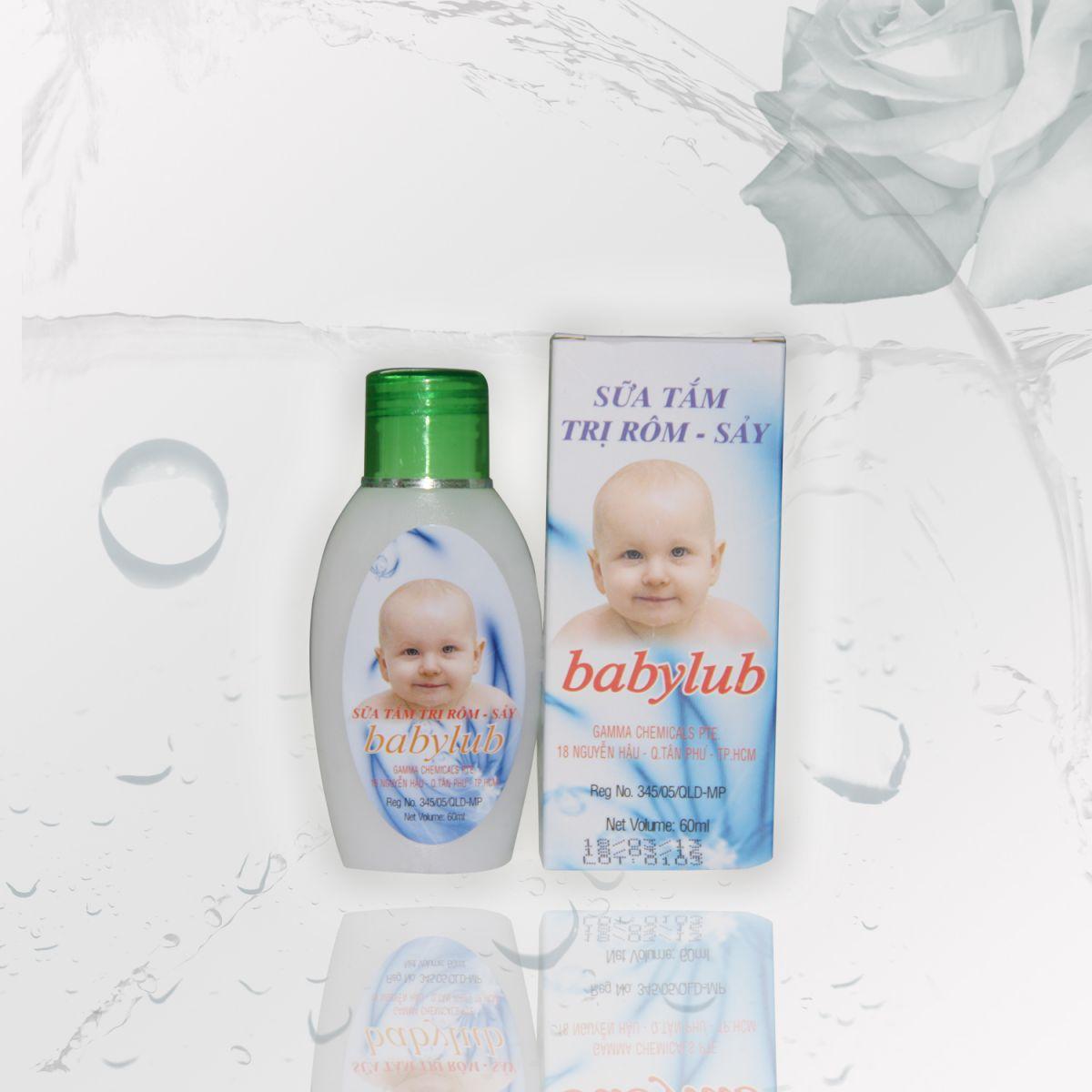 Sữa tắm dưỡng da trẻ em - BABYLUB 60ML