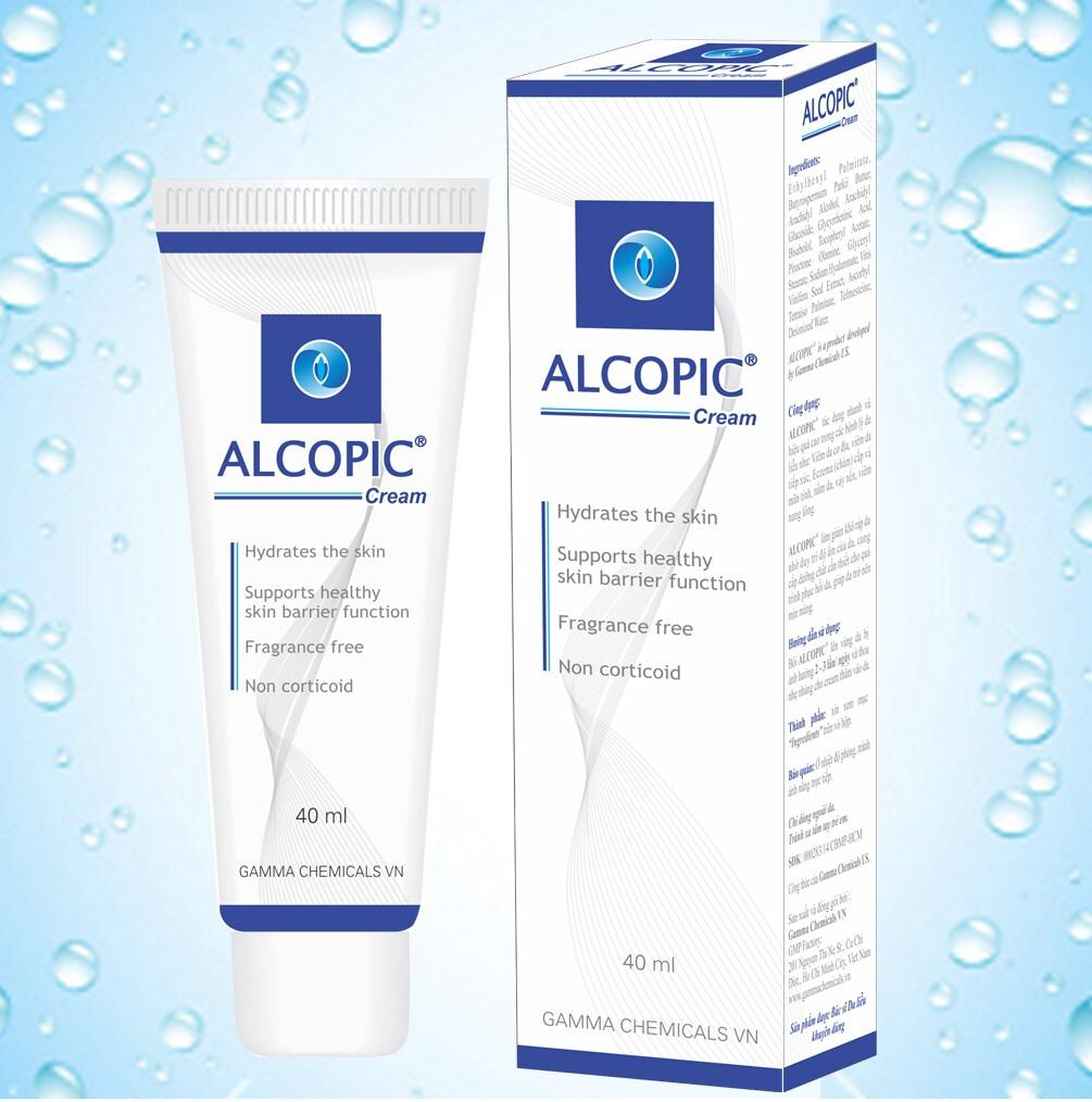 Alcopic ( Kem trị Eczema, viêm da cơ địa)