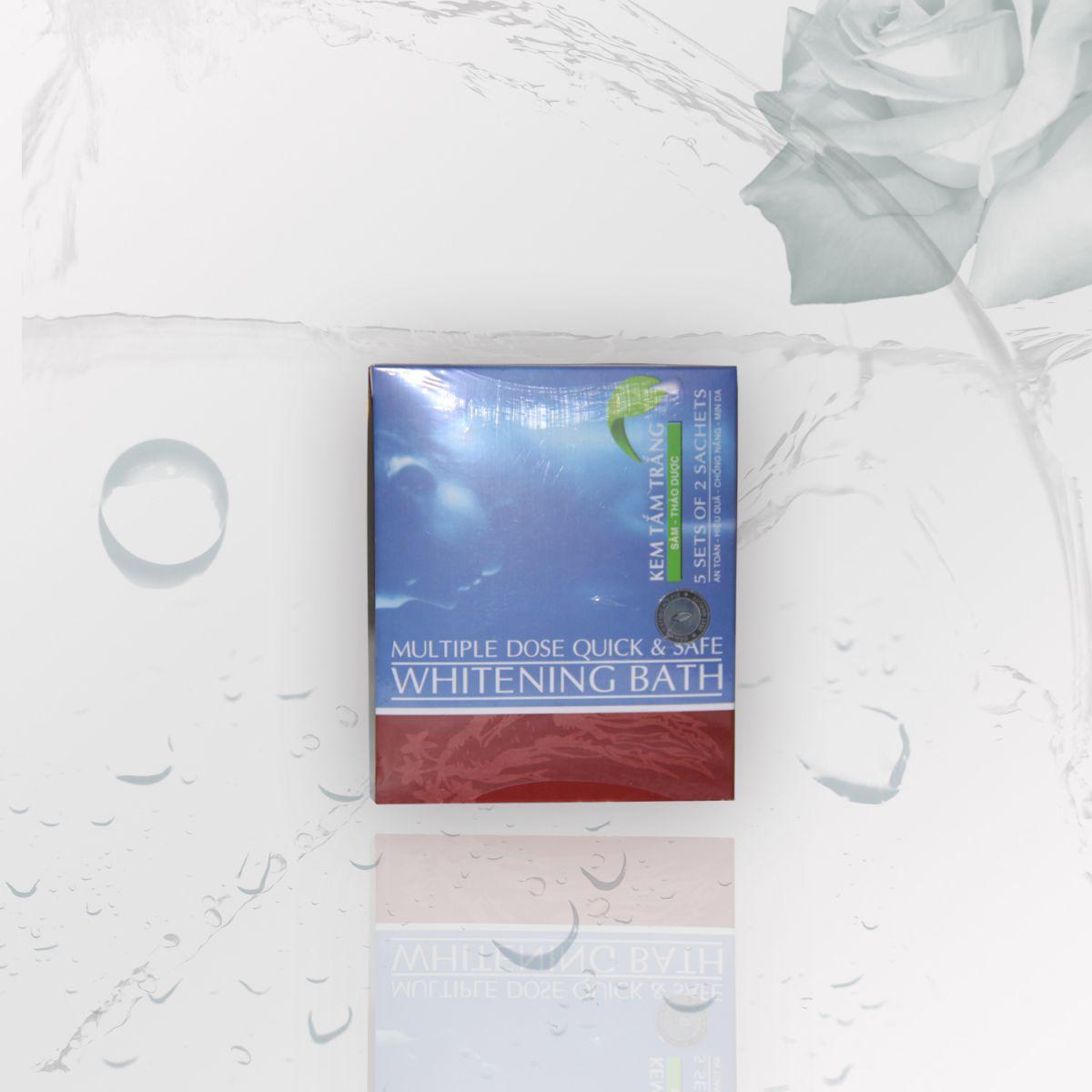 SP tắm trắng - KEM TẮM TRẮNG SÂM THẢO DƯỢC