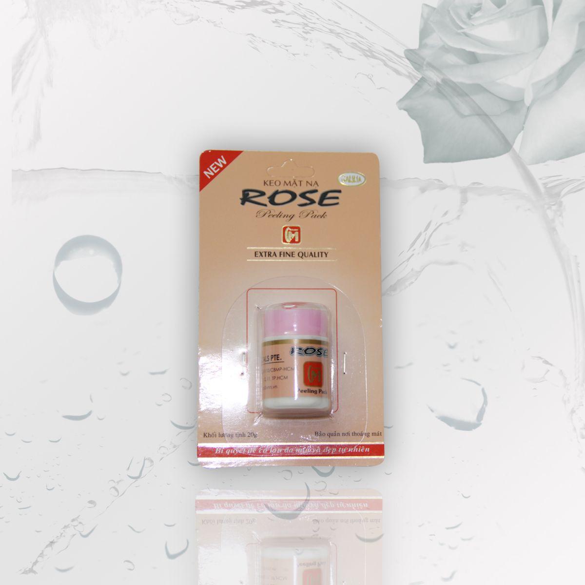 Mặt nạ lột mụn - KEO MẶT NẠ ROSE (VĨ 20G)