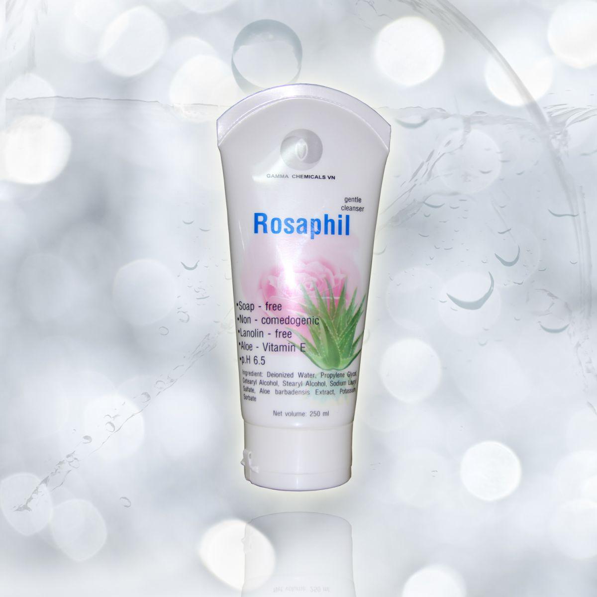 Sữa rửa dưỡng da ROSAPHIL